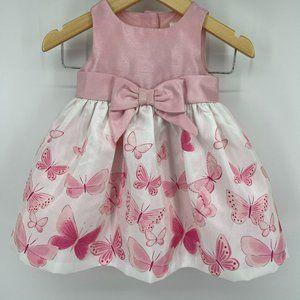 Gymboree Butterfly Sleeveless Dress Baby Girl 0-3